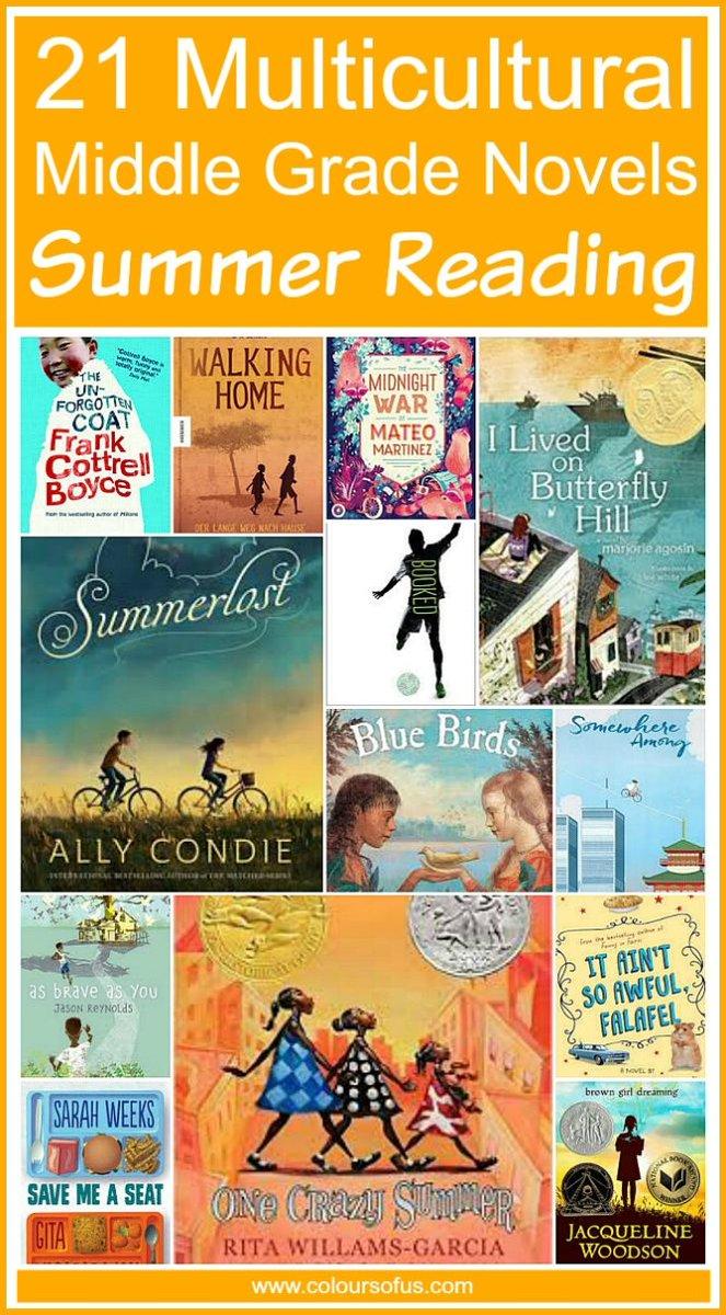 21 Multicultural Middle Grade Novels for Summer Reading https://t.co/PMw5tpebIH via @coloursofus https://t.co/FjdqJztXCg