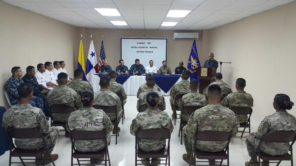 Curso de Inteligencia Naval Estratégica, en Panamá.