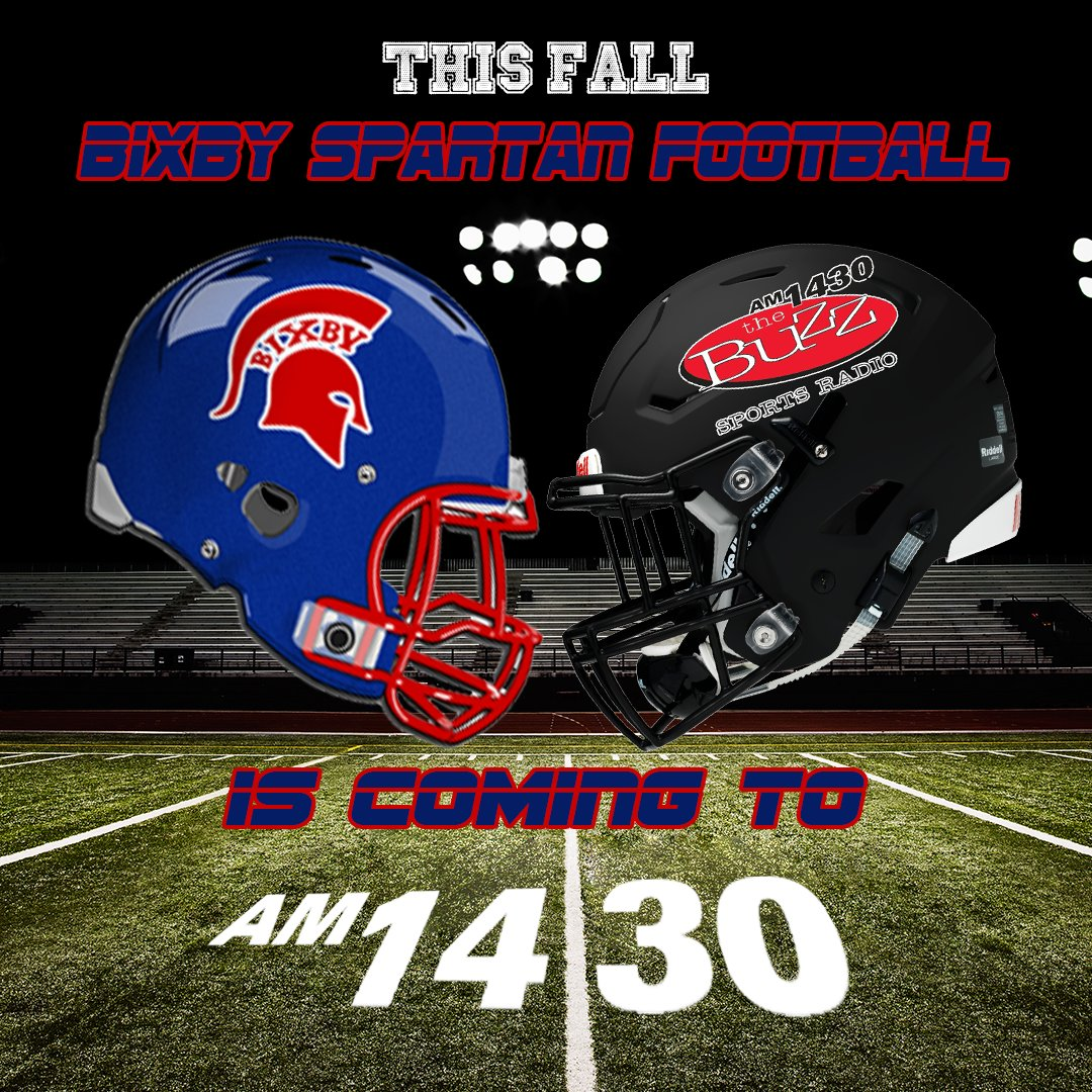 This Fall, @BixbySpartanFB can be heard on am1430 the Buzz, https://t.co/ElAyuL8sJh and on the @iHeartRadio app https://t.co/eJBz0VP3hB
