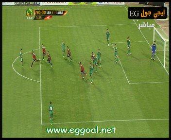 watch-Libya-Morocco-goals 1-1