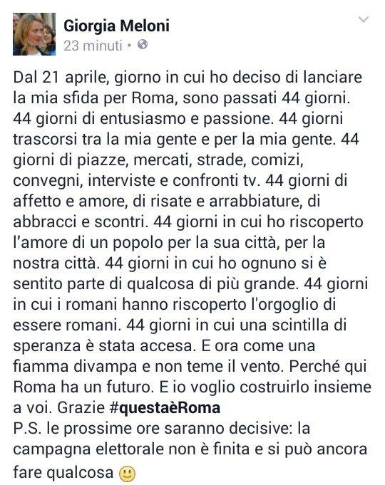 Thumbnail for #ElezioniRoma