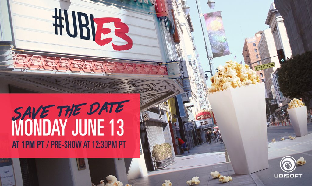 ICYMI: Get caught up on Ubisoft's plans for E3 2016 >> https://t.co/oqwQqmSRsi #UbiE3 https://t.co/LGrCNXUYZs