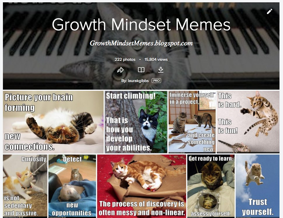 @robin_mcclellan lots of #growthmindset cats: so easy to make with Cheezburger! Flickr album https://t.co/vV7hyZon1v https://t.co/gRQViRdtIw