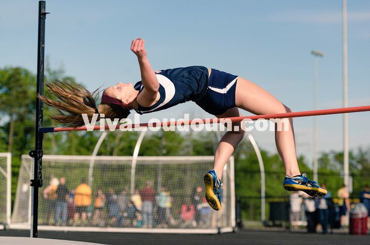 Lauryn Helstrom 4A State High Jump Champion