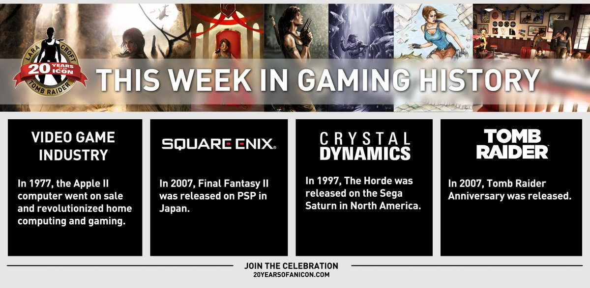 A lot happened #ThisWeekInGaming history, including Tomb Raider: Anniversary's release! #TombRaider20 https://t.co/he8aEpAwiO