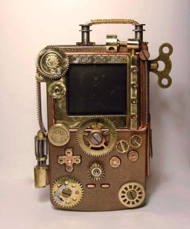 #Geek Awesome of the Day: #E3 #Vintage with this Bronze #Steampunk #Nintendo #Gameboy  via @SapphDragon #SamaGeek