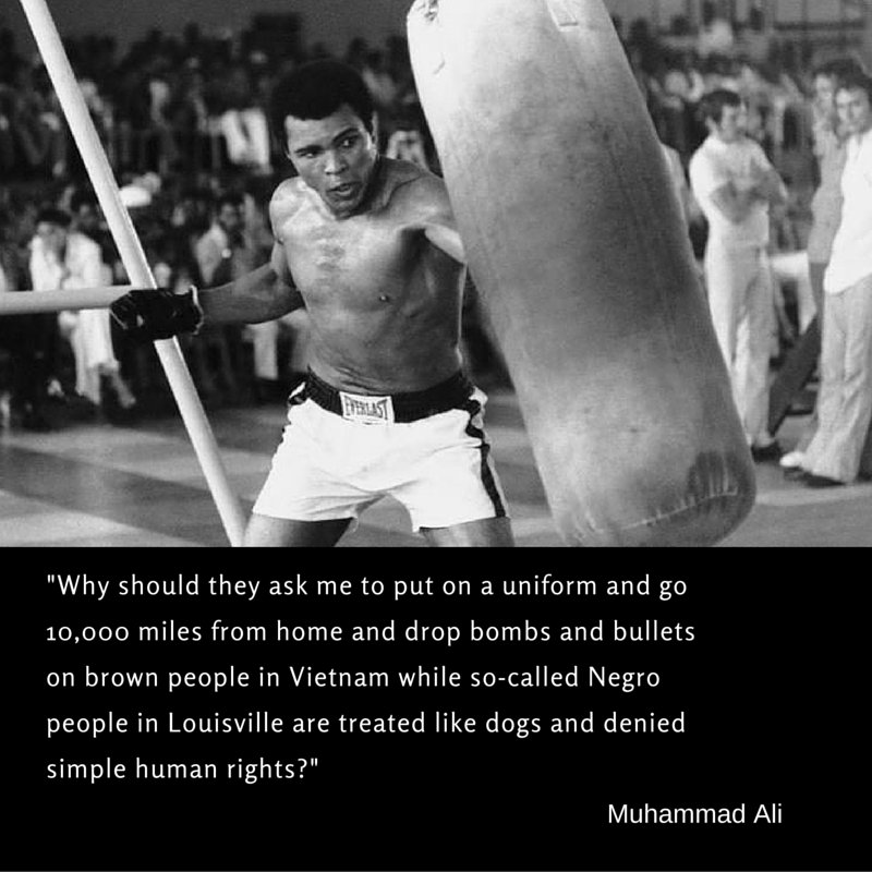 Muhammad Ali on the Vietnam War & the denial of fundamental freedoms in the US... https://t.co/23g2znoldK