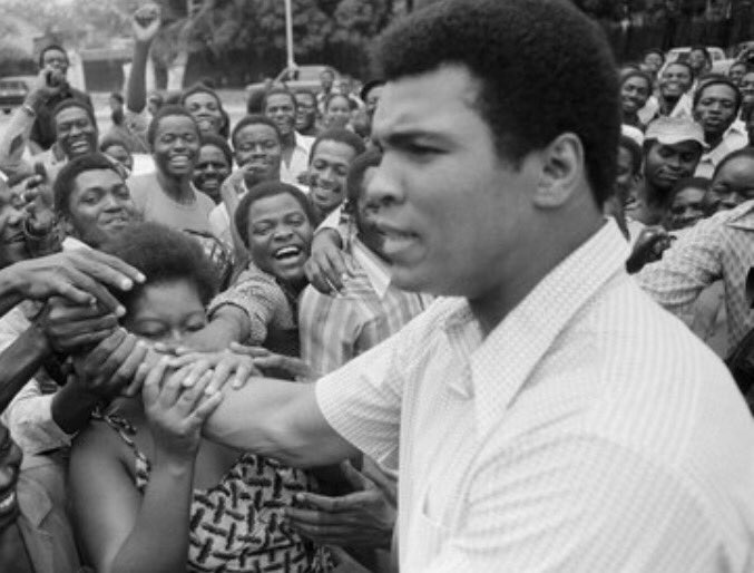 The great  #MuhammadAli has passed away Rest in piece Btother