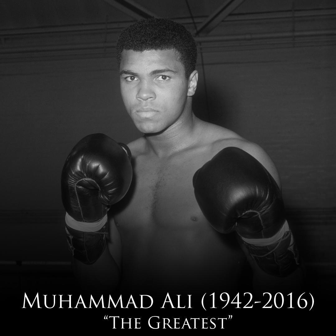 BREAKING: Three-time heavyweight boxing champion & Olympic gold medalist Muhammad Ali dies at age 74.