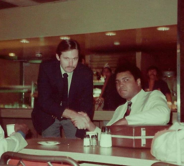 My dad met the legendary Muhammad Ali back in 1984. It was the thrill of a lifetime. RIP to one of the greats.