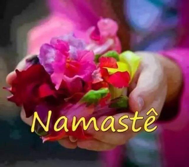 #Namaste! The Divine in ME honors the #Divine in YOU!   #JoyTrain #Kindness #BeKind #Joy #love RT @RedWolfWarrior<br>http://pic.twitter.com/sZ2BYeDGt0