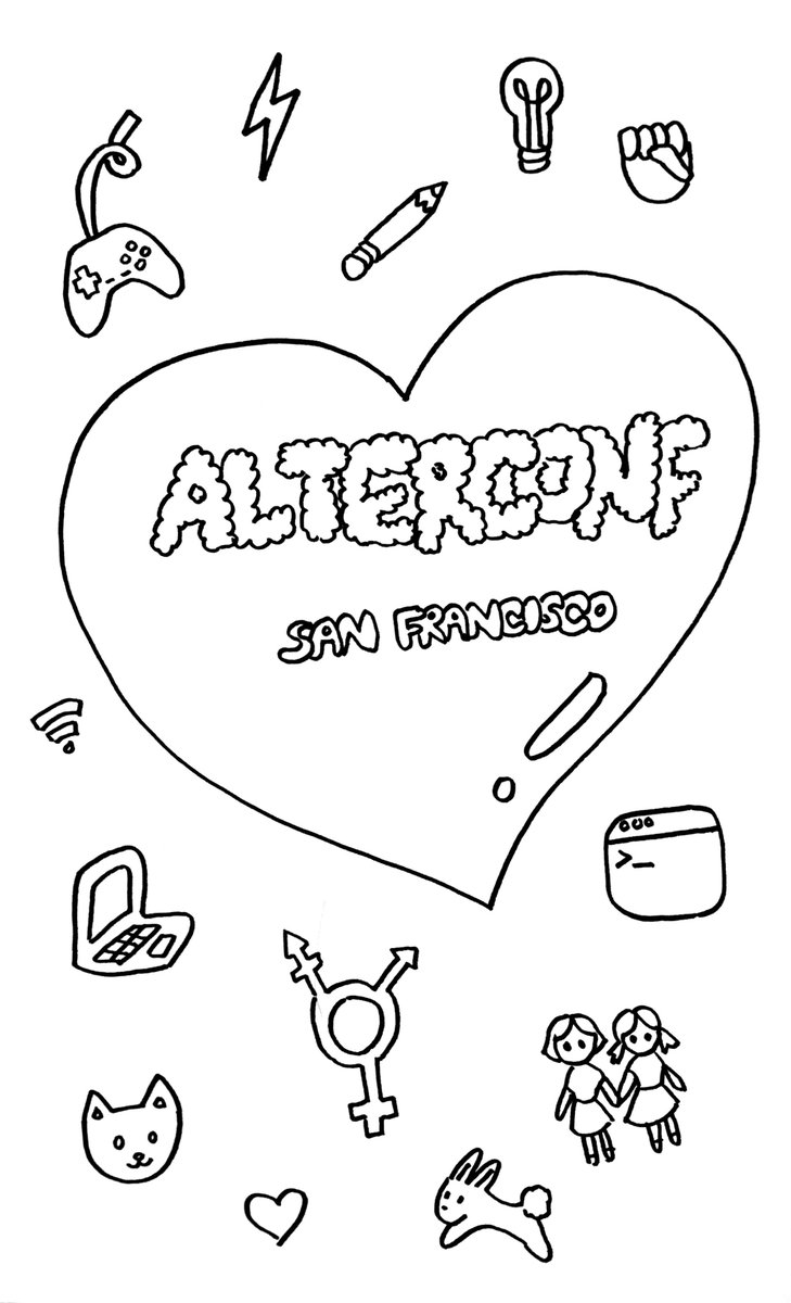 i'm going to be compiling all the @alterconf talk sketchnotes into a zine! (for speakers who agree to be recorded) https://t.co/QcuRrIQeDg