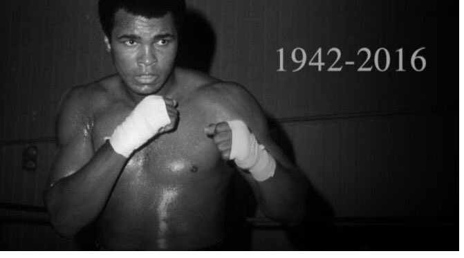 """He who is not courageous enough to take risks will accomplish nothing in Life "" Muhammad Ali . #RIPMuhammadAli https://t.co/M4RfSvAMkO"