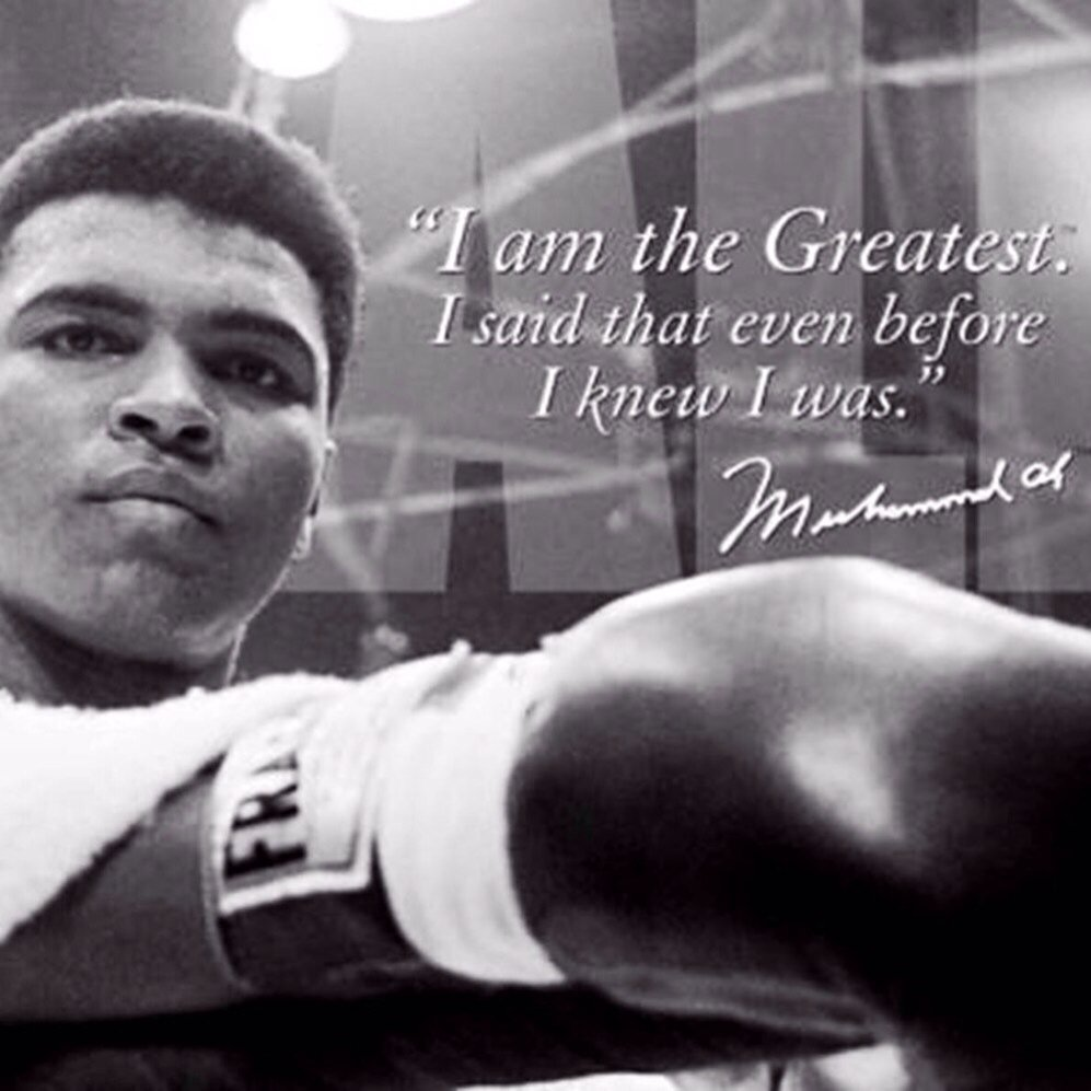 You believed it. You became it. You lived it. #RIPALI #MuhammadAli #Legend Thank you for being always being you. https://t.co/jeiJbKPK8V