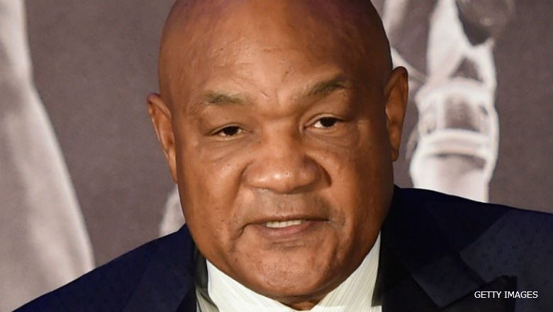 """George Foreman on Muhammad Ali: """"A big part of me died when he passed away, I call it the greatest piece."""" https://t.co/pLJ0ahifCY"""