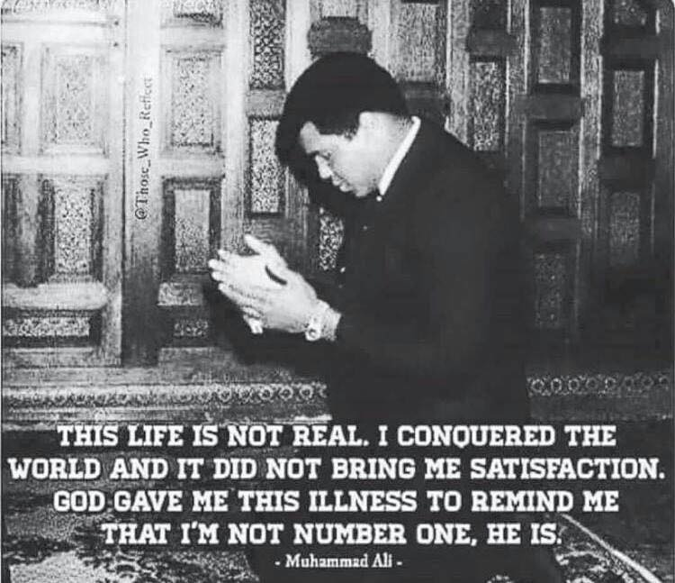 May God grant #MuhammadAli peace in his grave and the highest stations of Paradise. https://t.co/x5uKfLkiRz