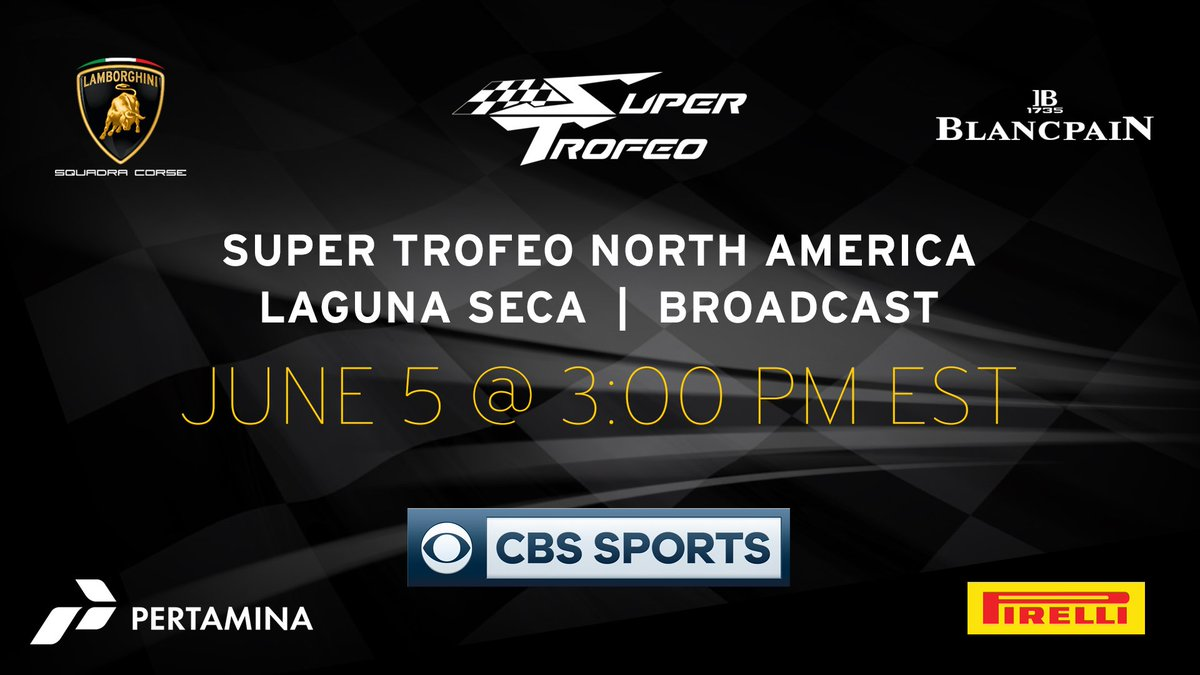 Squadra Corse On Twitter Tune In To Cbssportsnet Tomorrow At 3pm