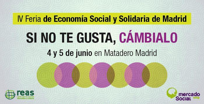 Cientos de proyectos de economía social y solidaria han tomado Matadero. ¡Vente! @MES_Madrid @ReasMadrid https://t.co/mrsy2Xj7ye
