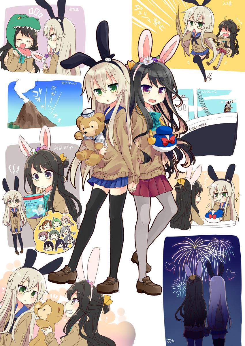 長波サマと島風ちゃんに冒険とイマジネーションの海でデートして欲しい pic.twitter.com/CHxL2uXkPm