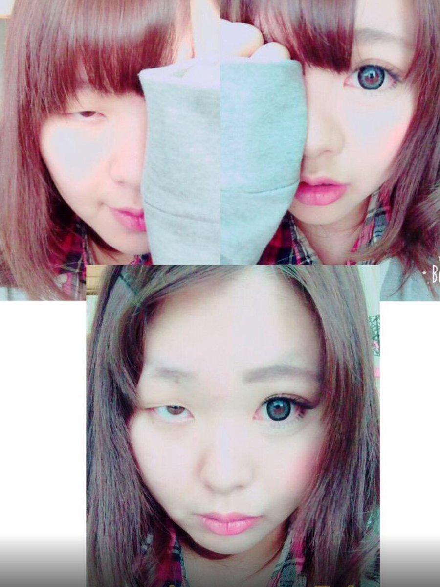 中国で最近使われているフレーズ。「日本人女性は化粧で変わる。韓国人女性は手術で変わる。中国人女性はアプリで変わる。」