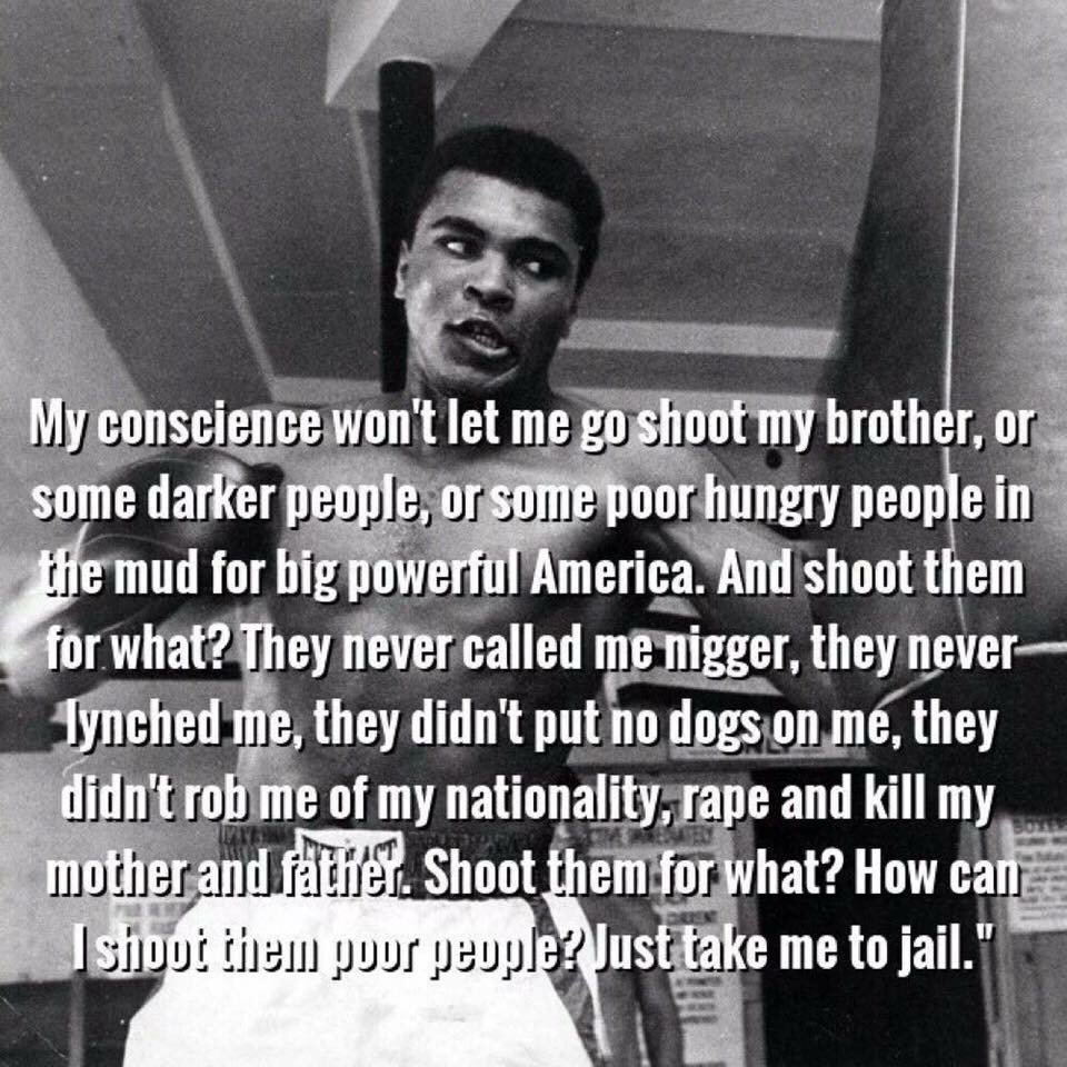 Don't let Ali be white washed today. The US government tormented him for a reason: he was unabashedly dangerous. https://t.co/JPU2EePOvr