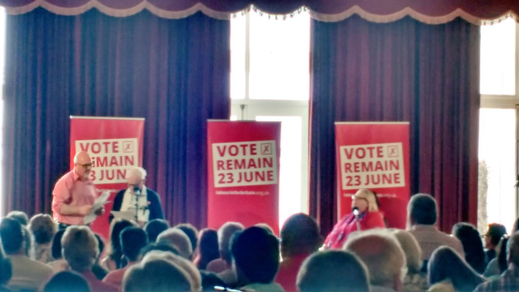 Warm reception and moving speech from @Harryslaststand here at the @UKLabourIN rally with @jeremycorbyn RT https://t.co/Dps3W9AKHS