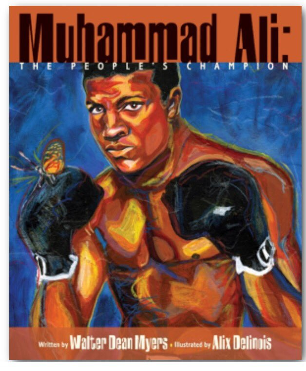 In memory of the great #MuhammadAli , a picture book by Walter Dean Myers. #goat #kidlit https://t.co/iEq6WuNUsI