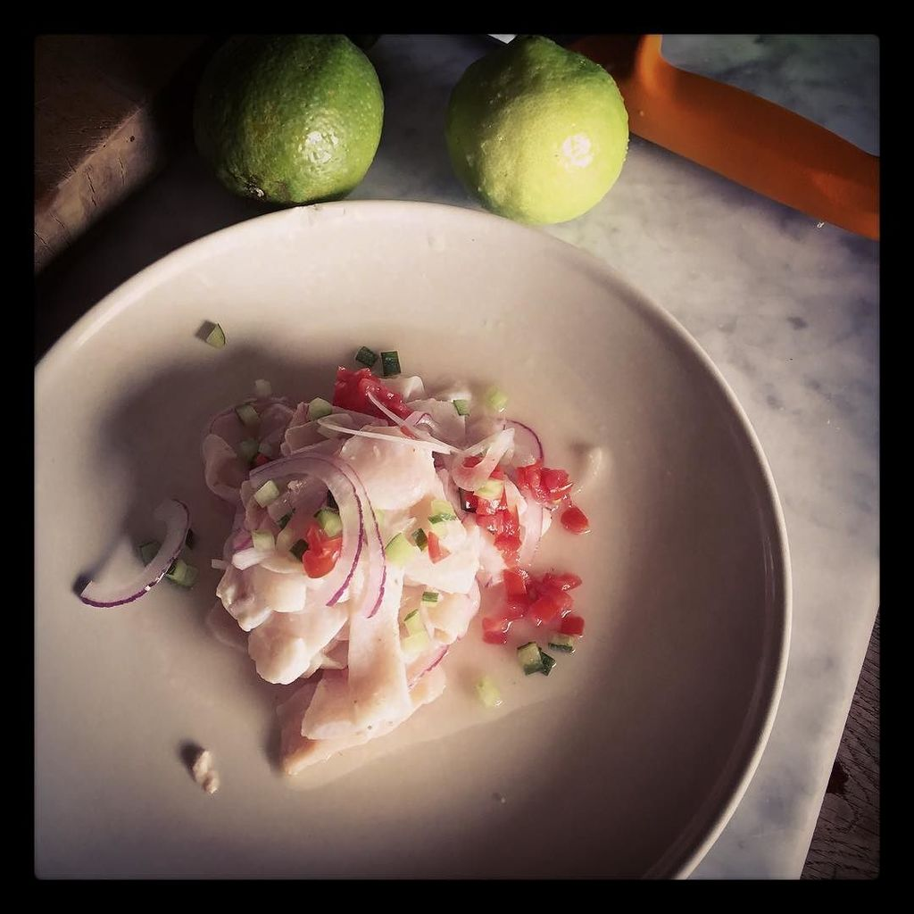 """Sicilian ceviche"" Testing recipes, and simplicity wins as always: filleted freshly caught… https://t.co/knqBAAkOJs"