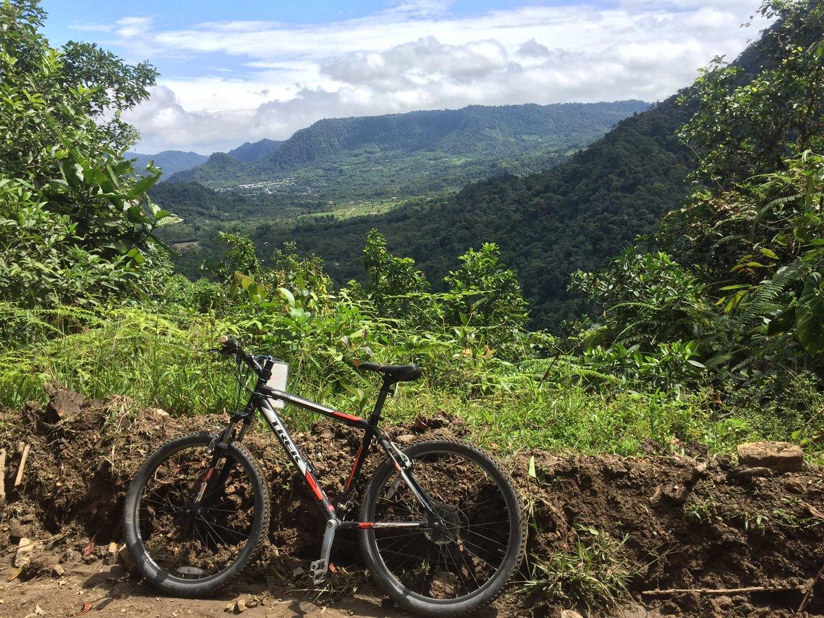 Beautiful morning for a ride in Mindo #VTEcuador https://t.co/wbu9SIjsXy