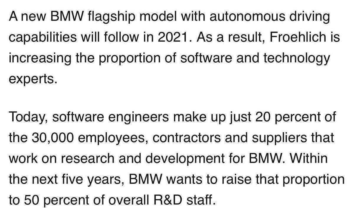 Software eats cars https://t.co/qzLkAxEuvr