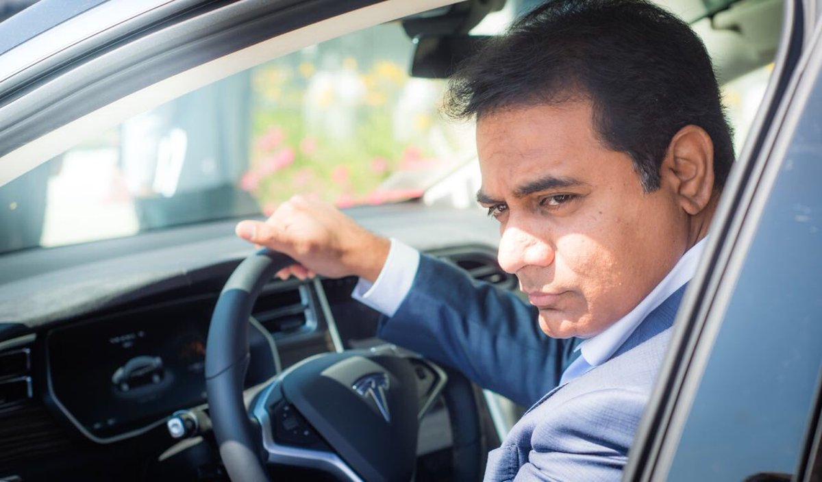 KTR moves abroad with his family for enjoyment