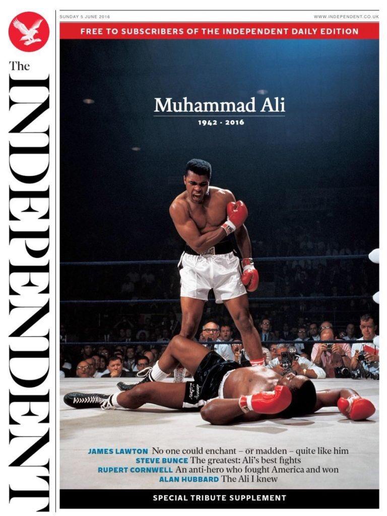 Ha muerto Muhammad Ali  CkI9HsFWYAATT0l