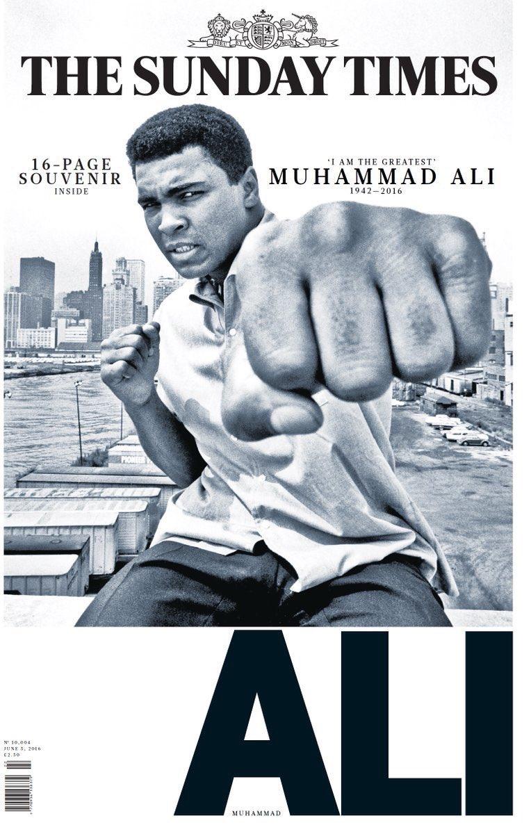 Ha muerto Muhammad Ali  CkI9HsHWYAAuVAk