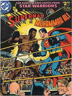 FYI: Superman fought #MuhammadAli in this issue. And lost. https://t.co/iNR8bdm0f2