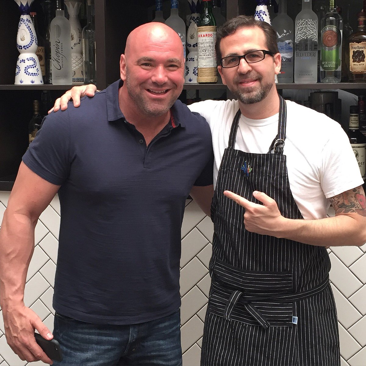 "Crossroads Kitchen Travis Barker crossroads kitchen on twitter: ""great having @danawhite and @ufc"
