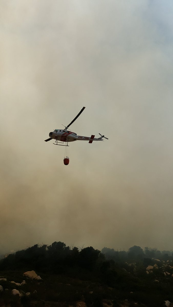 Photos of #TemeculaFire. Photos courtesy of CAL FIRE/Riverside County Fire https://t.co/vbzN7Ro1VH