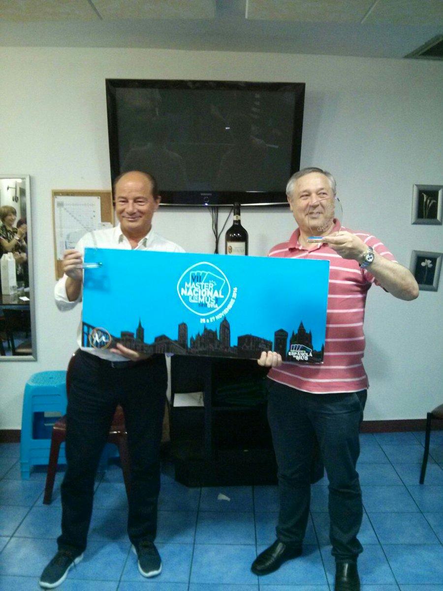 Nando Galvez Blanco y Miguel de la Fuente de la Torre, Campeones del V Torneo de Mus Galipán