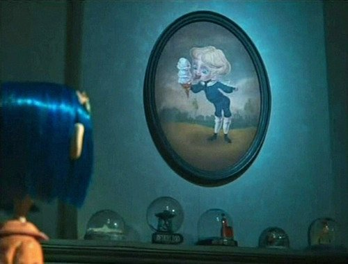 Artem On Twitter One Boring Blue Boy In A Painfully Boring Painting Coraline