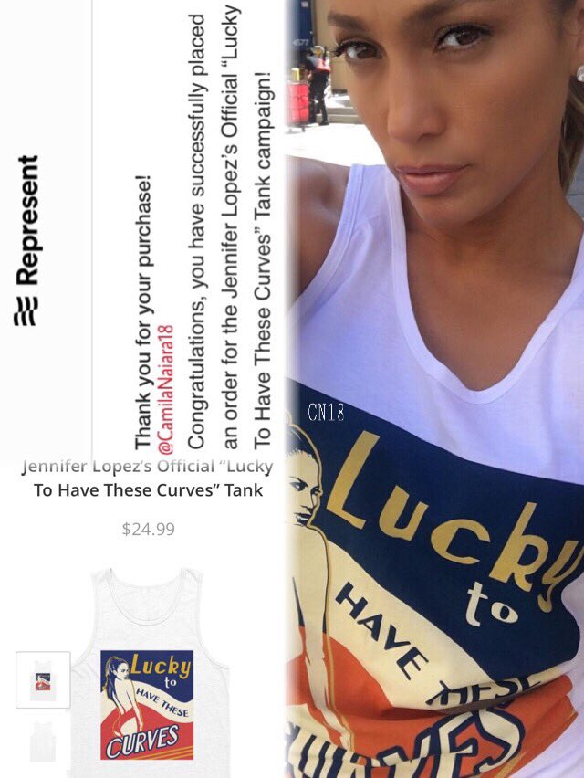 I gave me this birthday gift, can't wait to arrive!!! @JLo
