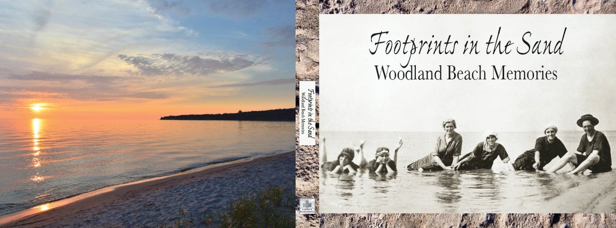 So this comes fr printer next week -- official launch date is July 16 at the Woodland Beach History Day event. YAY https://t.co/KX7DvDfxyY