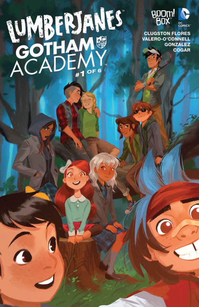 Lumberjanes/Gotham Academy #1 preview. Hells yes! Yes. Yes. Yes! #comics https://t.co/WxWVuMkH9b https://t.co/ifNFg7mdhD
