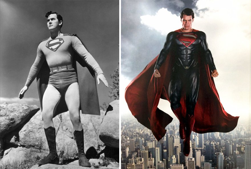Superman 1948 And 2016 https://t.co/30egqMDHjC