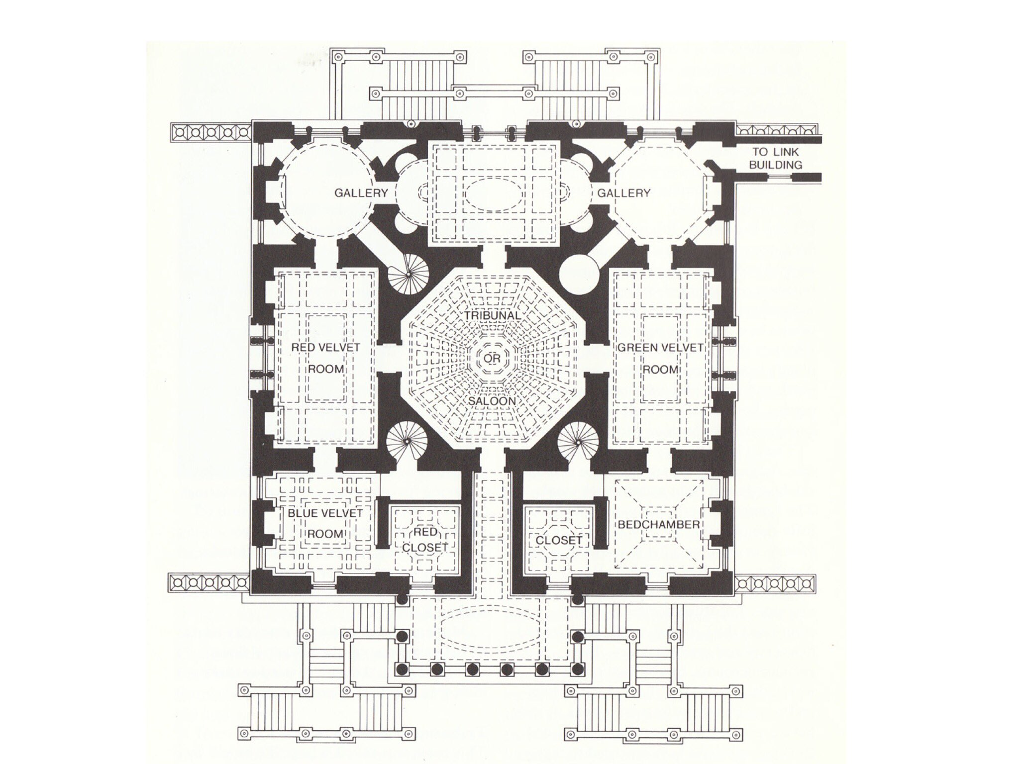 Ricky craig pound on twitter floor plan of palladio 39 s for Palladian house plans