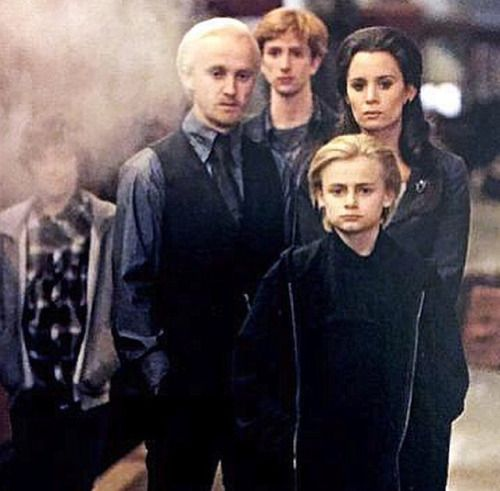 """Harry Potter World on Twitter: """"Draco Malfoy married ..."""