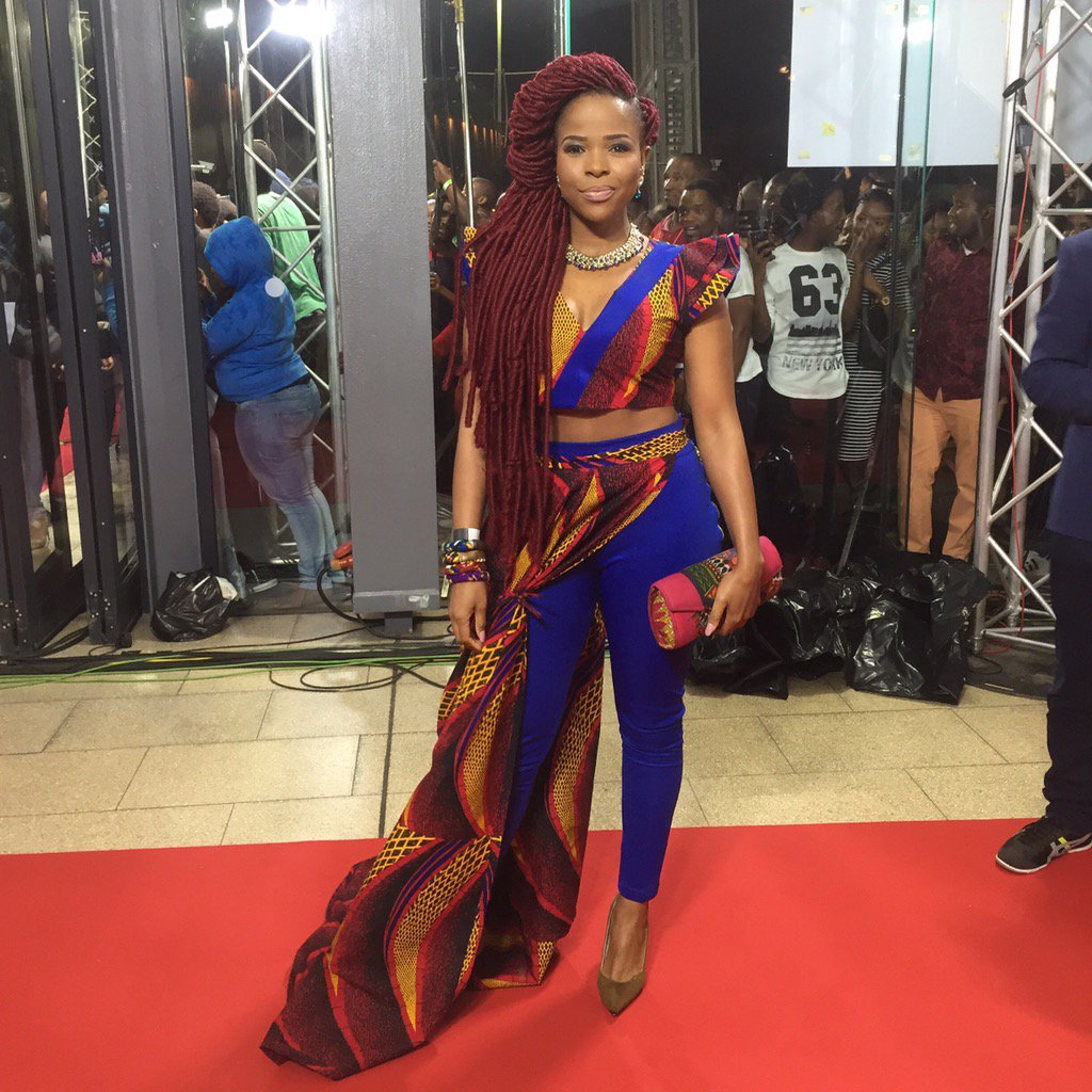 Dreamt it, created it and wore it best #NonalaToseProductions #SAMA22 #VisualisePlanPrayAchieve #redcarpet https://t.co/7Dilt1h6GS