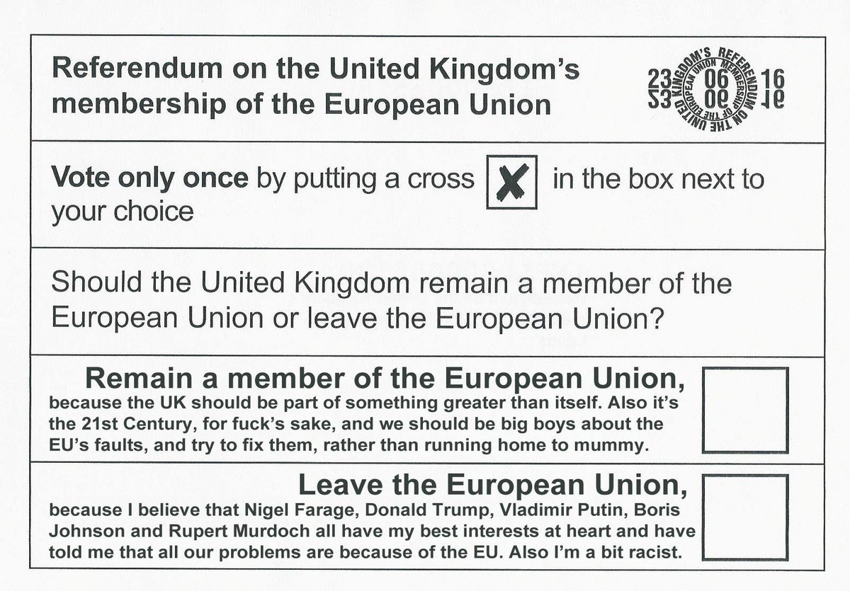 For anyone who's got difficulties to decide how to vote in #EUreferendum   #Brexit https://t.co/gWpSZKDfr7