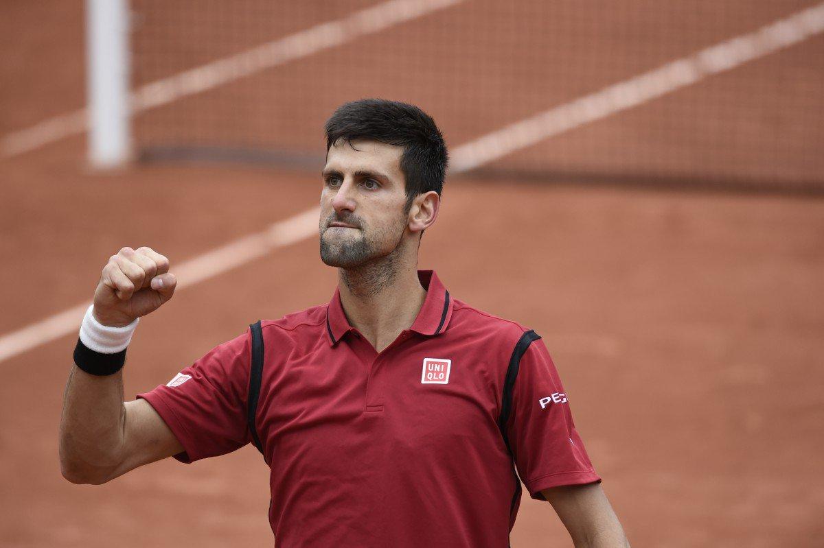 Djokovic - RG '16 - @rolandgarros