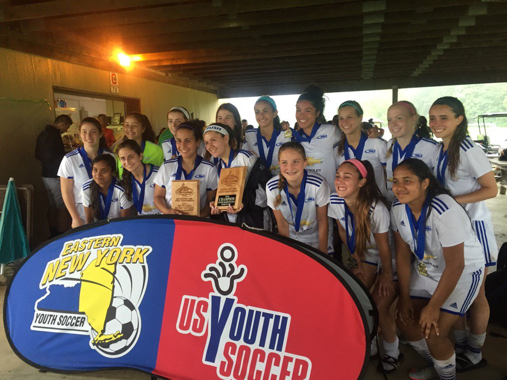 Congratulations to our U16 NY Rush Rowdies on winning the @ENYSoccer state cup today @RushSoccer