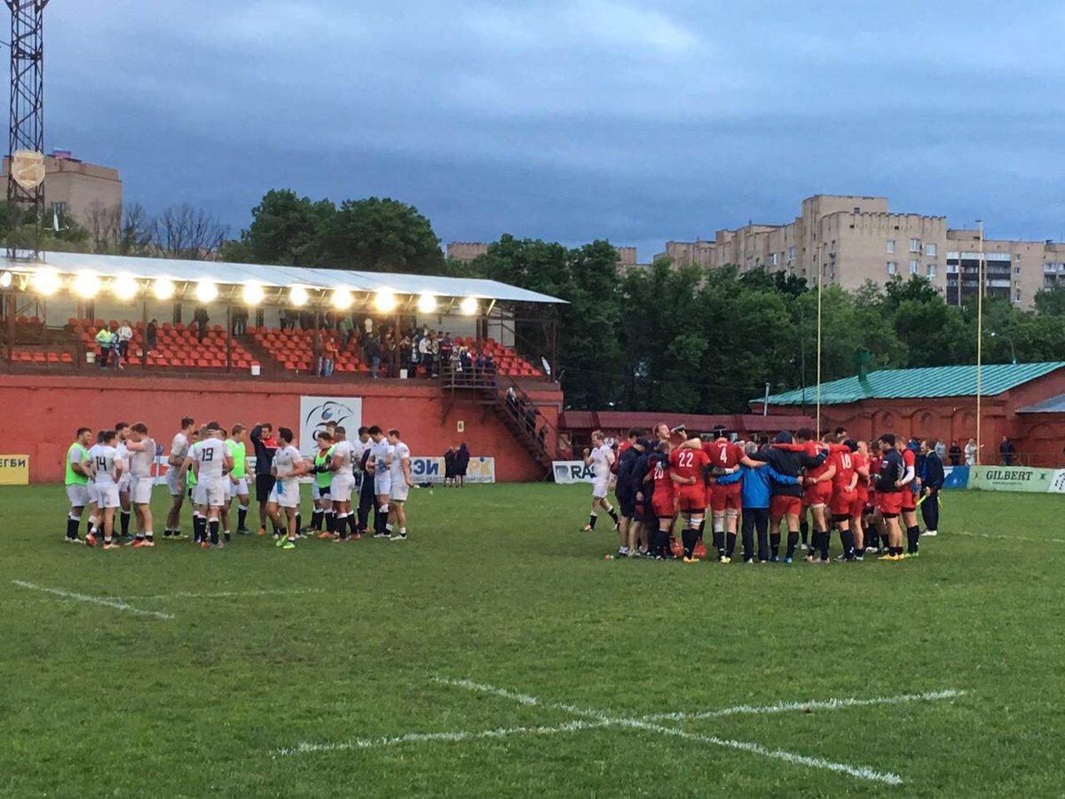 #U20: @EngCounties20s score hard-fought 14-19 win over #RUS U20 at @SlavaRugby T Churashov, Mashkin C Churashov 2 https://t.co/D9bcUftujX