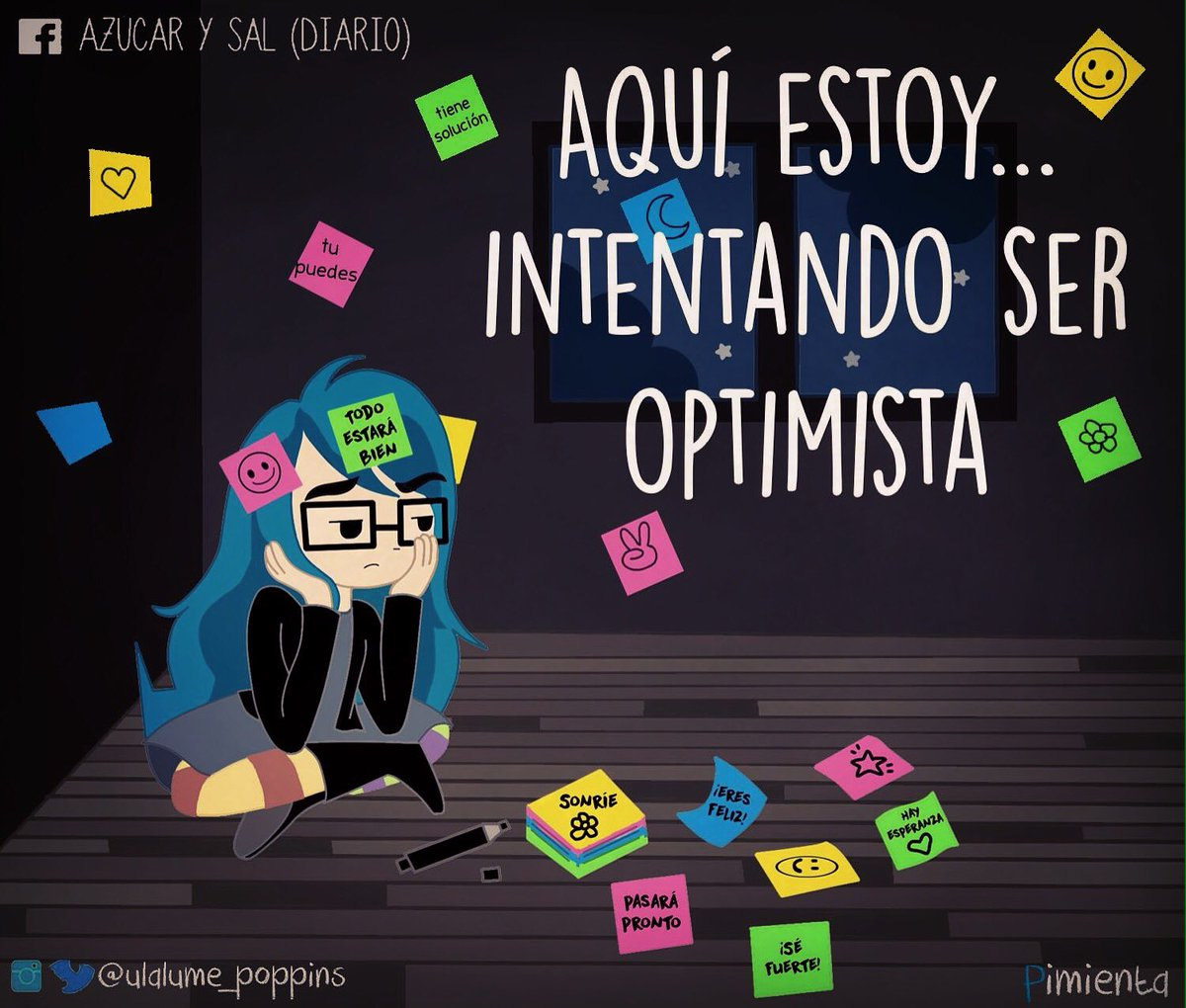 #Pimienta Intentando ser optimista #azucarysal